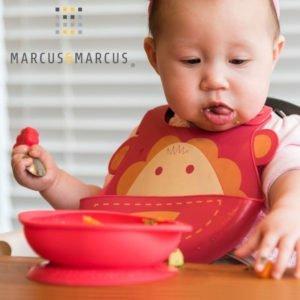 Σετ φαγητού σιλικόνης Marcus & Marcus MNMLS07-LN