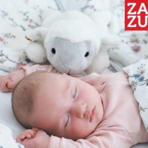 Αρνάκι νανουρίσματος Zazu με χτύπο της καρδιάς & λευκούς ήχους Za-Liz-01