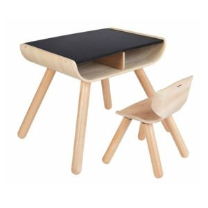 Παιδικό γραφείο & καρέκλα Plan Toys 8703