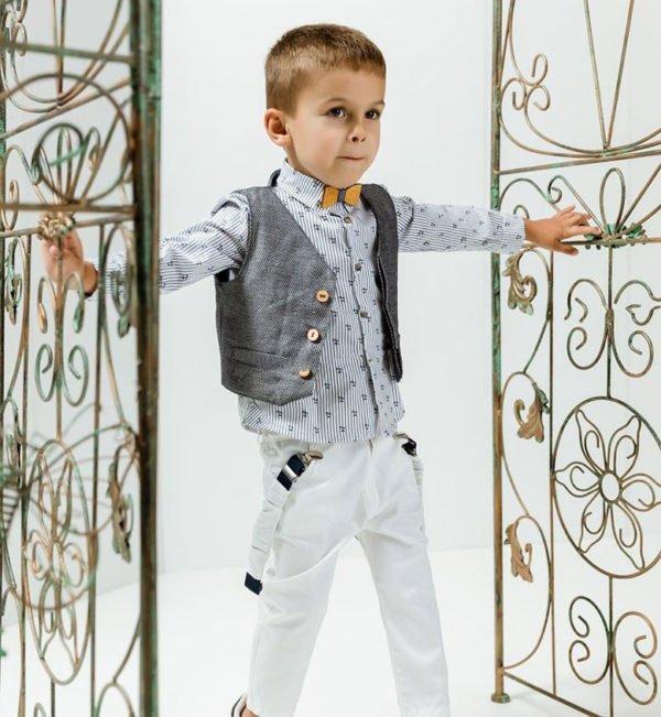 Βαπτιστικό κοστούμι για αγόρια   Radu RΒ607