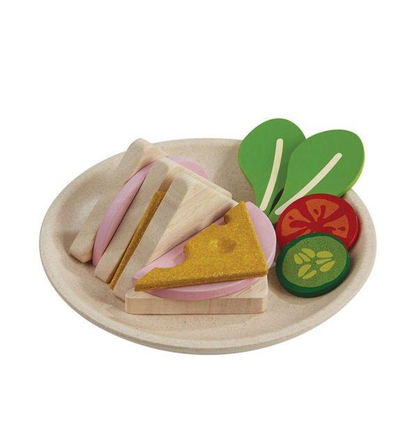 Σετ με σάντουιτς Plan Toys 3612