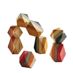 Γεωμετρικά βραχάκια Plan Toys 5511