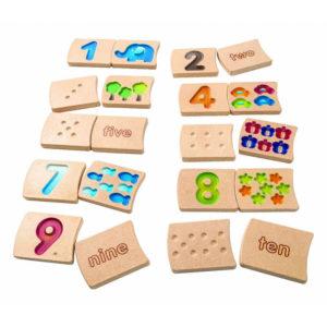 Αριθμοί Plan Toys montessori 5641