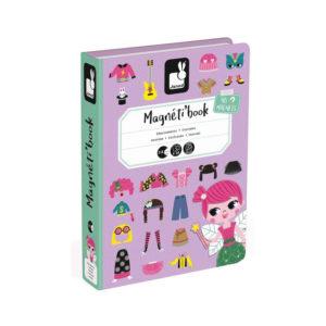 Μαγνητικό εκπαιδευτικό βιβλίο-παιχνίδι Janod T-JND-J02718 κοριτσίστικα ρούχα