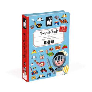Μαγνητικό εκπαιδευτικό παιχνίδι-βιβλίο Janod T-JND-J02719 αγορίστικα ρούχα
