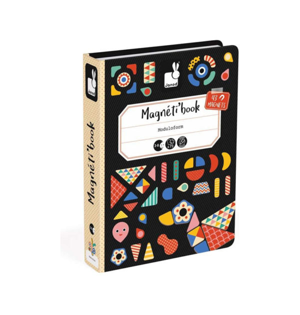 Μαγνητικό εκπαιδευτικό βιβλίο-παιχνίδι Janod γεωμετρικά σχέδια T-JND-J02720