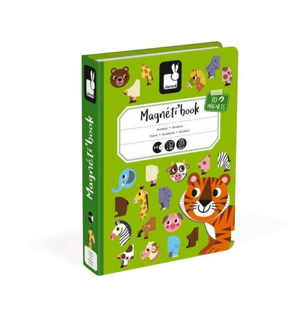Μαγνητικό εκπαιδευτικό βιβλίο παιχνίδι Janod T-JND-J02723 ζωάκια