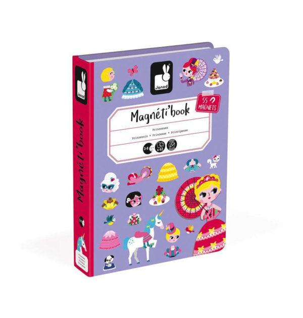 Μαγνητικό εκπαιδευτικό βιβλίο-παιχνίδι T-JND-J02725 πριγκίπισσες