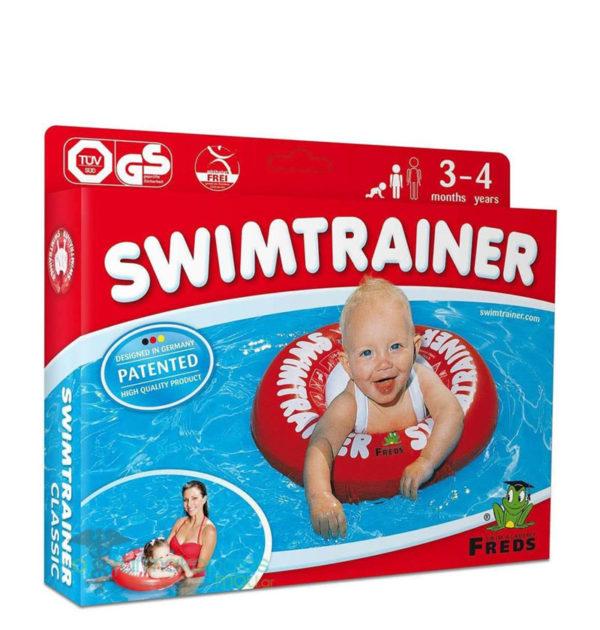 Σωσίβιο Swimtrainer classic 3μηνών έως 4 ετών κόκκινο