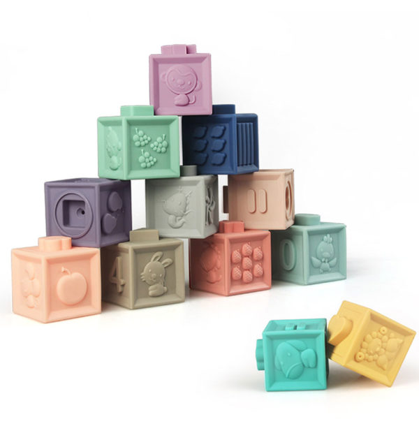 Εκπαιδευτικοί 3D Κύβοι Baby To Love που βοηθά & τη λεπτή κινητικότητα