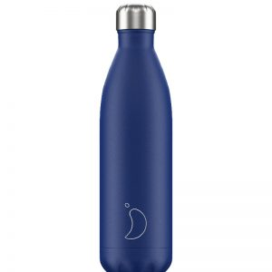 Ισοθερμικό μπουκάλι Chilly's blue matte 750ml 200409