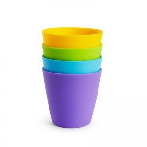 4 πολύχρωμα ποτήρια Munchkin 51762