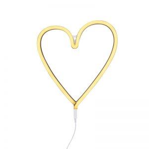 Φωτιστικό neon Heart A Little Lovely Company LTNE039