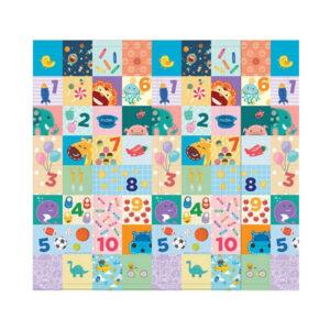Χαλί για παιχνίδι Love to Counting 180 Χ 150 για βόλτα, μπαλκόνι marcus & marcus ΜΝΜΒΒ35