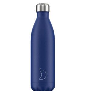 Ισοθερμικό μπουκάλι Chilly's blue matte 500ml 200201