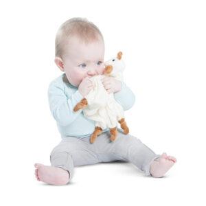 Πανάκι παρηγοριάς Sophie la girafe με θέση για πιπίλα S260133