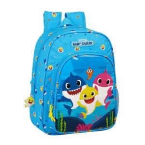 Τσάντα πλάτης 34x26εκ Safta baby shark 612060185
