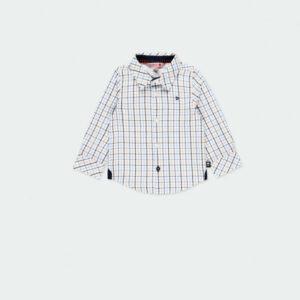 Παιδικό πουκάμισο ποπλίνα Boboli 711223 για αγόρια έως 5 ετών