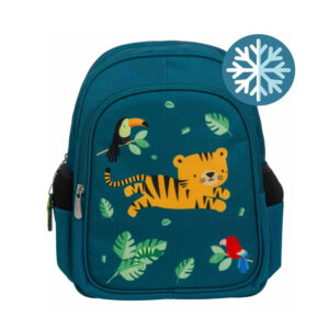 Τσάντα πλάτης με ισοθερμική θήκη A Little Lovely company Tiger BPJTGR41