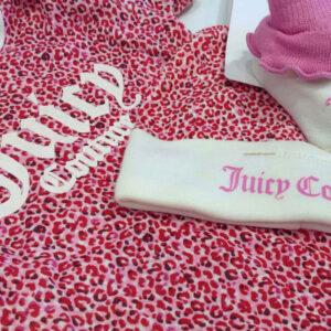 Σετ Juicy Couture με ζιπουνάκι,καλτσάκια & σκουφάκι JBX5306P6