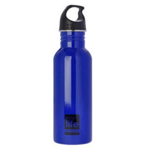 Μεταλλικό ανοξ. παγούρι 600ml Ecolife blue 33-BO-1005