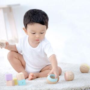 Ανθρωπάκια ήχος-όραση-αφή Plan Toys 5258