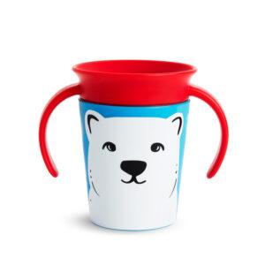 Trainer cup Munchkin 177ml με χερούλι 51776 polar bear