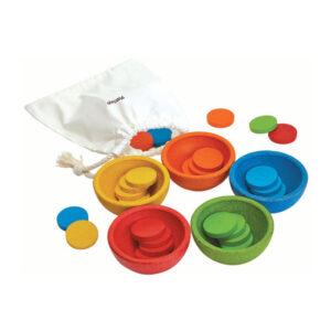 Ταξινόμησε & μέτρησε Plan Toys 5360, βασισμένο στην μέθοδο montessori