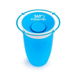 Εκπαιδευτικό ποτήρι Munchkin Miracle sippy cup 296ml blue 11028
