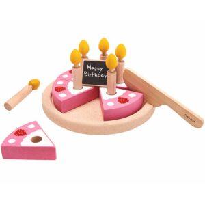 Σετ τούρτας γενεθλίων Plan Toys 3488
