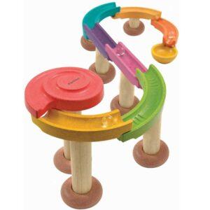 Διαδρομές με μπάλα Plan Toys 5642 (μικρό)...Χρωματιστό σετ