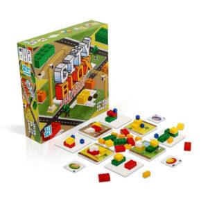 Επιτραπέζιο παιχνίδι Zito! City blox T-ZIT-58314 για όλη την οικογένεια