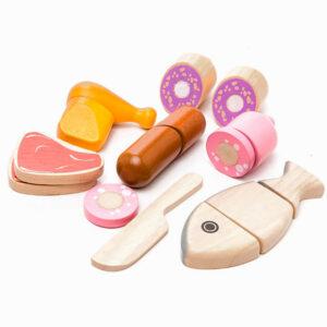 Σετ με ξύλινα κρετικά Plan Toys 3457 9 τεμαχίων