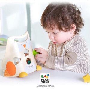 Κουκουβάγια ταξινόμησης Plan Toys 5132