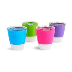 2 εκπαιδευτικά ποτήρια Munchkin splash cups18m+ 207ml
