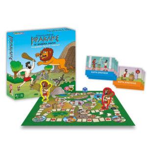 Επιτραπέζιο παιχνίδι Ηρακλής Οι 12 άθλοι 50/50 Games 505201 8Ε+