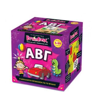 Επιτραπέζιο παιχνίδι Μάθε την Άλφα-Βήτα Brainbox 93020 4Ε+