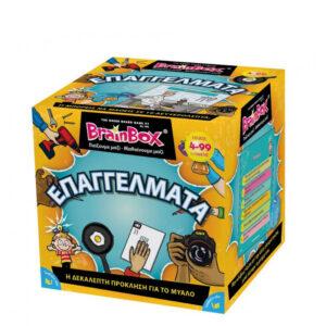 Επιτραπέζιο παιχνίδι επαγγέλματα Brainbox 93023 4Ε+