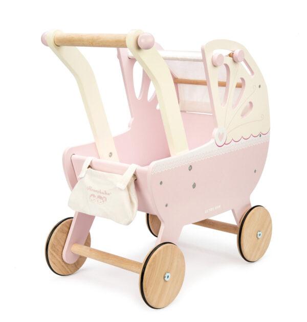 Ξύλινη καροτσάκι κούκλας Le Toy Van tv322 για την μικρή σου φίλη!