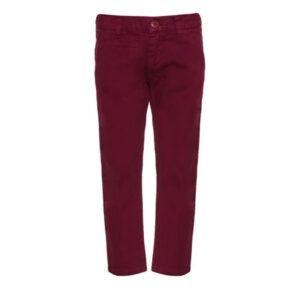 Παιδικό παντελόνι Marasil 21712800 bordeaux για αγόρια έως 14 ετών