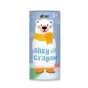 12 μεταξένια κραγιόν και poster 58x21 Polar Bear 60404