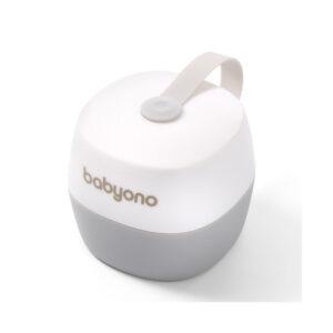Θήκη πιπίλας BabyOno BN535 λευκό/γκρι