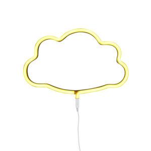 Φωτιστικό neon cloud A Little Lovely Company για παιδικό δωμάτιο
