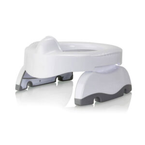 Φορητό γιογιό ταξιδίου Potette plus premium λευκό/γκρι 56081