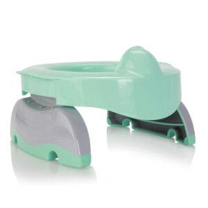 Φορητό γιογιό & εκπαιδευτικό κάθισμα Potette plus premium πράσινο 56082