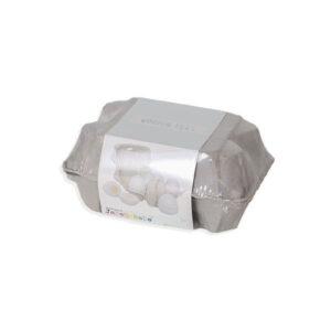 Ξύλινα αυγά σε πακέτο Jabadabado JB-W7118 (6 τεμάχια)