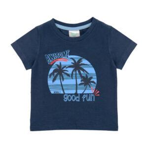 Βρεφική μπλούζα μακό αγόρια έως 2 ετών (κοντομάνικη)