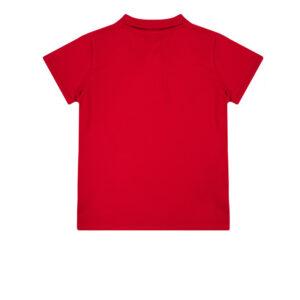 Παιδική μπλούζα polo πικέ Guess L71P21K5DSO κόκκινο για αγόρια