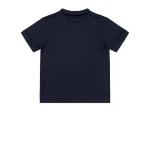 Παιδική μπλούζα polo πικέ Guess L71P21K5DSO μπλε σκούρο για αγόρια