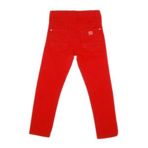 Παιδικό παντελόνι slim καπαρντίνα Mandarino 22106601 για αγόρια
